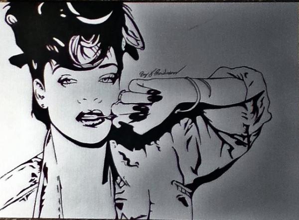 Rihanna by jamesrowlinson